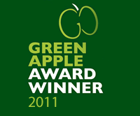 Green Apple Award Winner 2011