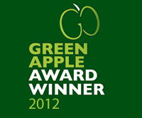 Green Apple Award Winner 2012