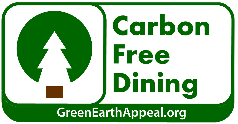Green Earth Appeal - Carbon Free Dining